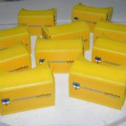 carboard corporativo amarillo